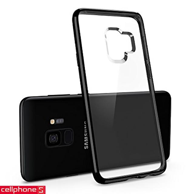 Ốp lưng cho Galaxy S9+ - Spigen Ultra Hybrid Case