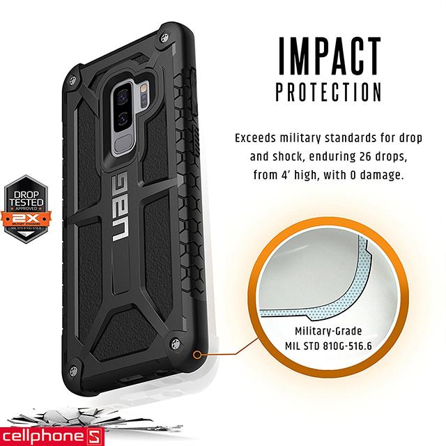 Ốp lưng cho Galaxy S9+ - UAG Monarch Series