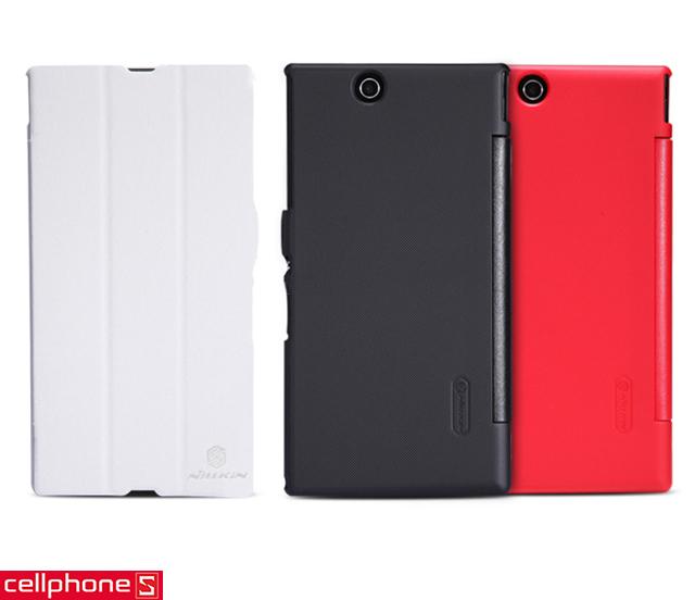 Bao da cho Sony Xperia Z Ultra - Nillkin V-series Leather Case