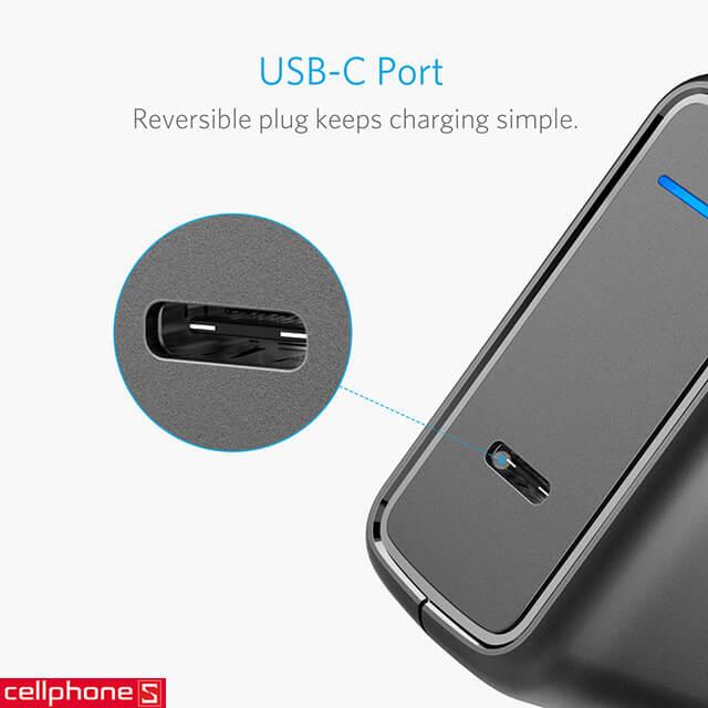 Sạc Anker Powerport Speed 1 cổng USB-C 30W A2014