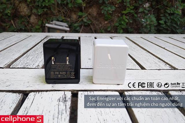 Sạc Energizer Classic Wall Charger 1 A ACA1AUSC