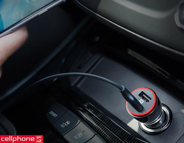 Sạc ôtô Anker PowerDrive Speed 2