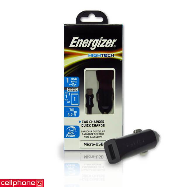 Sạc ô tô Energizer Hightech Car Charger 2 A DCA1QHMC3