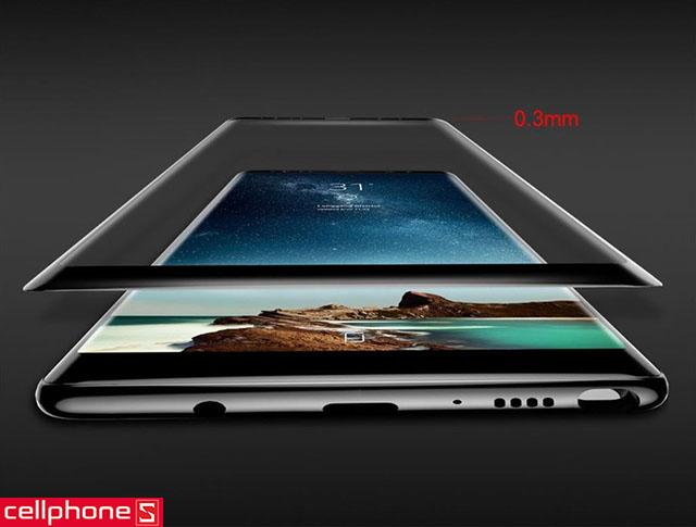 Miếng dán chống va đập Baseus 3D cho Galaxy Note 8
