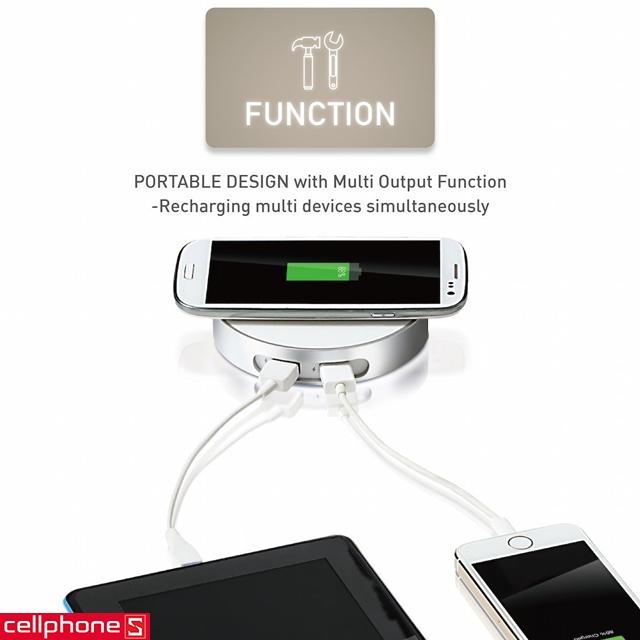 Đế sạc không dây Channel Well Wireless Charger WCD00020B