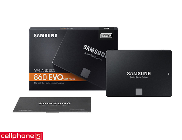"Ổ cứng SSD Samsung 860 EVO 2.5"" SATA III 500GB"