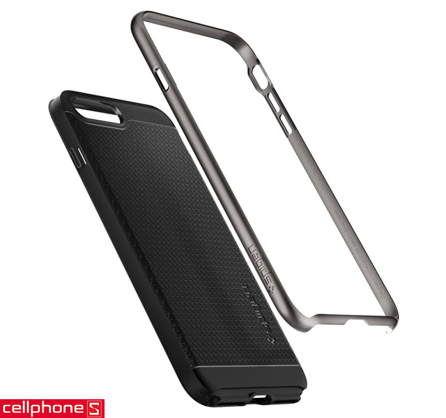 Ốp lưng cho iPhone 8 Plus - Spigen Neo Hybrid 2 Case