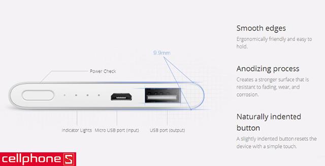 Pin dự phòng Xiaomi Mi 5000 mAh
