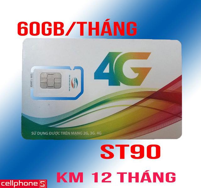 SIM 4G Viettel ST90