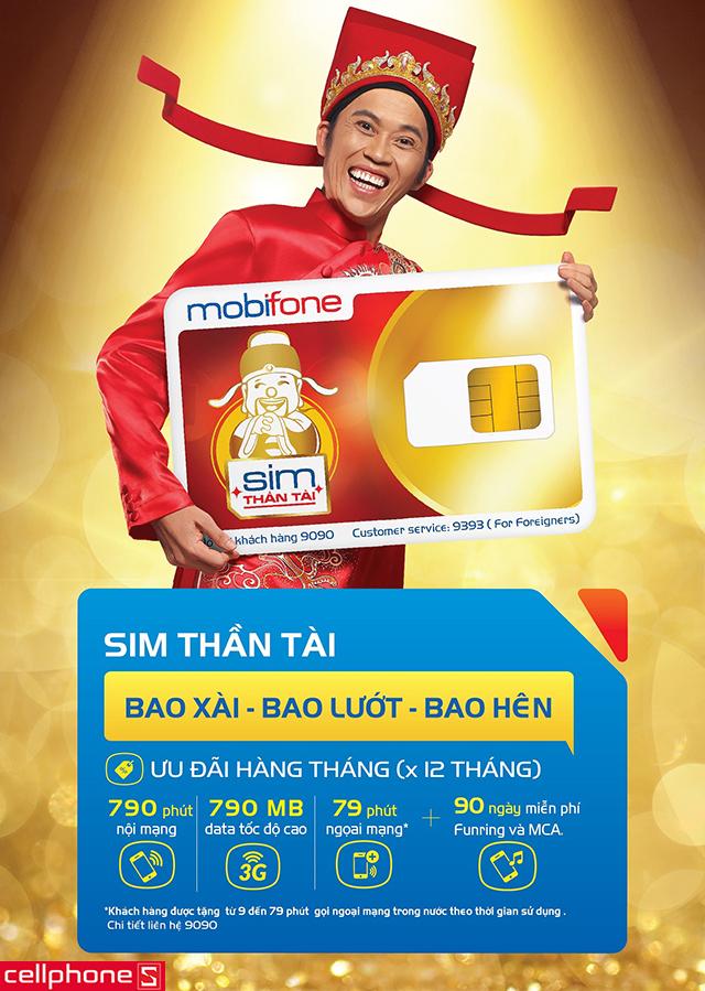 SIM Thần tài MobiFone