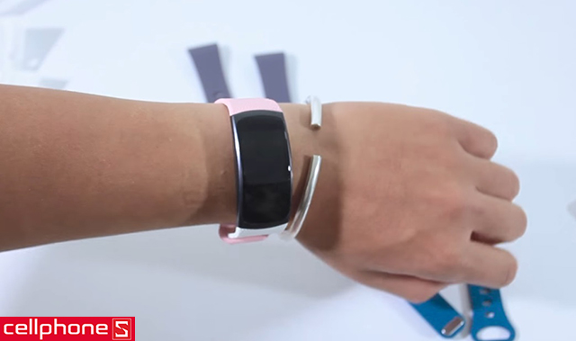 Dây cao su vòng đeo Samsung Gear Fit 2