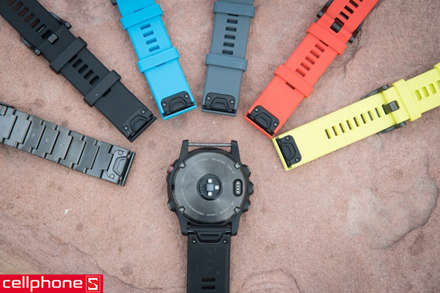 Dây đeo Garmin QuickFit 26 Silicone Band