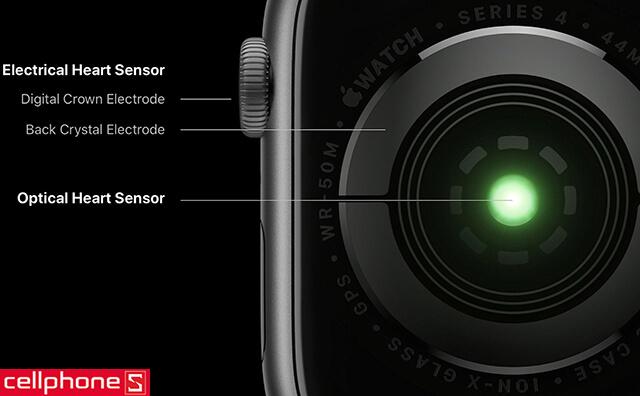 Đồng hồ thông minh Apple Watch 4 40mm (GPS) Space Gray Aluminum Case - Black Sport Band MU662