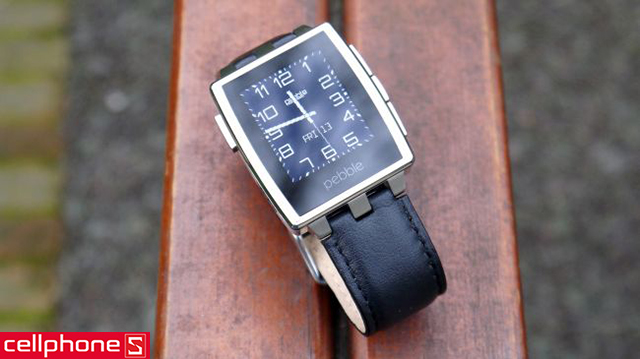 Đồng hồ thông minh Pebble Steel
