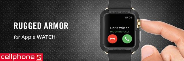 Ốp lưng cho Apple Watch Series 3/2/1 (42mm) - Spigen Rugged Armor Case
