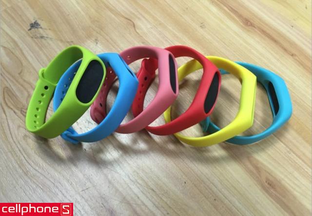 Vòng cao su Mijobs TPU Wrist Strap cho Mi Band 2