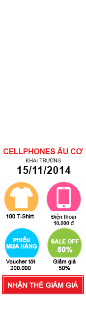 Khai trương CellphoneS Âu Cơ