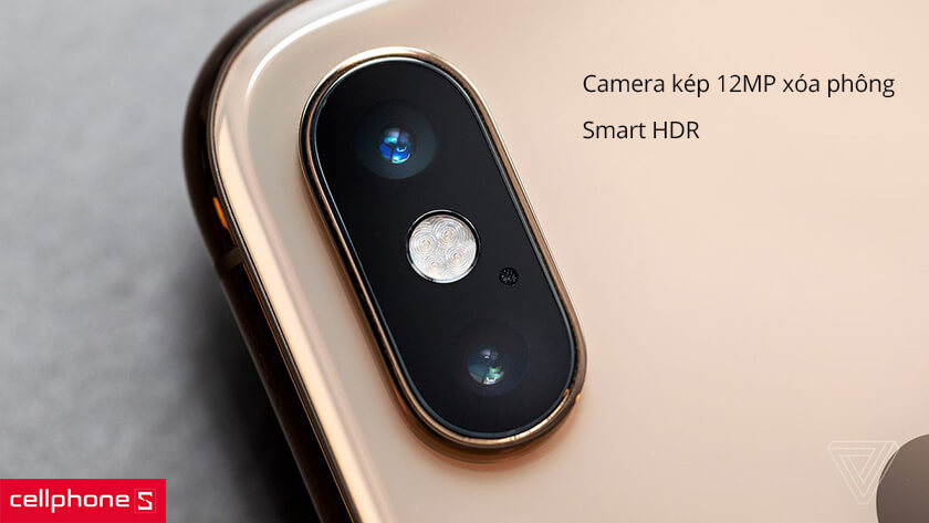 iPhone XS Max 64GB 2 SIM camra kép