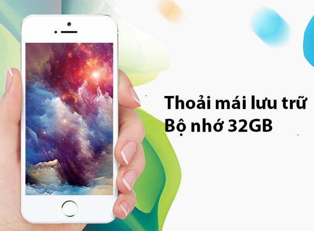 Apple iPhone 5S 32GB nhập khẩu