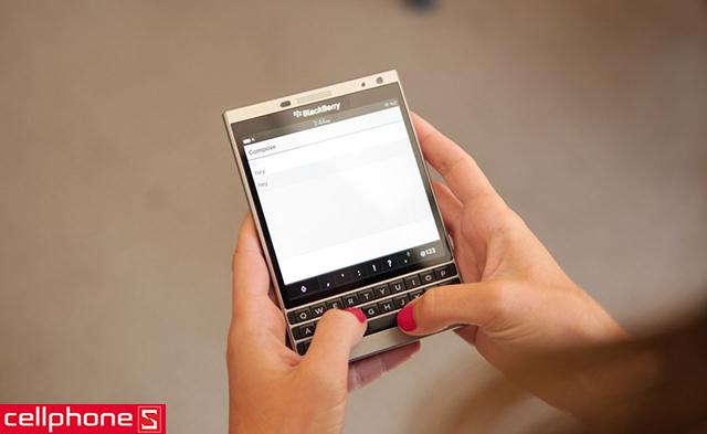 BlackBerry Passport Silver Edition nhập khẩu
