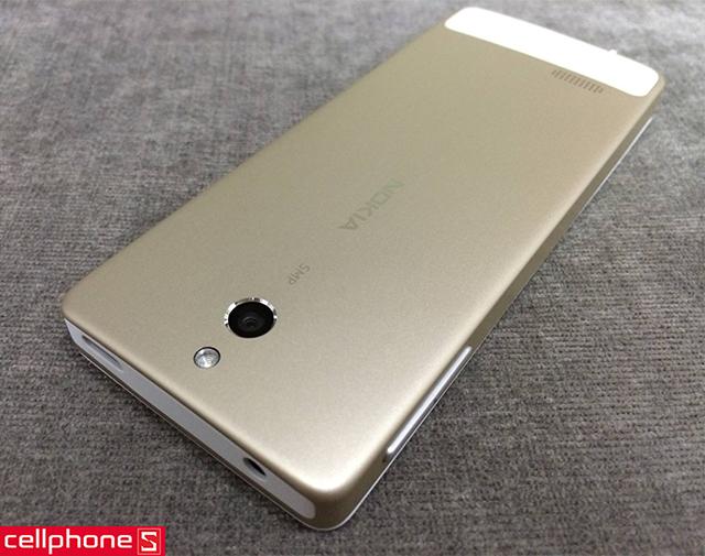 Nokia 515 Dual SIM phiên bản gold nhập khẩu