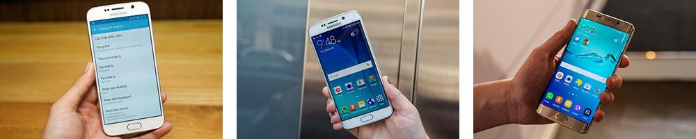 điện thoại Galaxy S6, S6 Edge và S6 Edge Plus