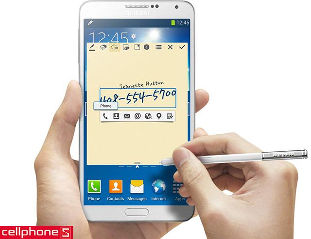 Samsung Galaxy Note 3 au KDDI SCL22 nhập khẩu