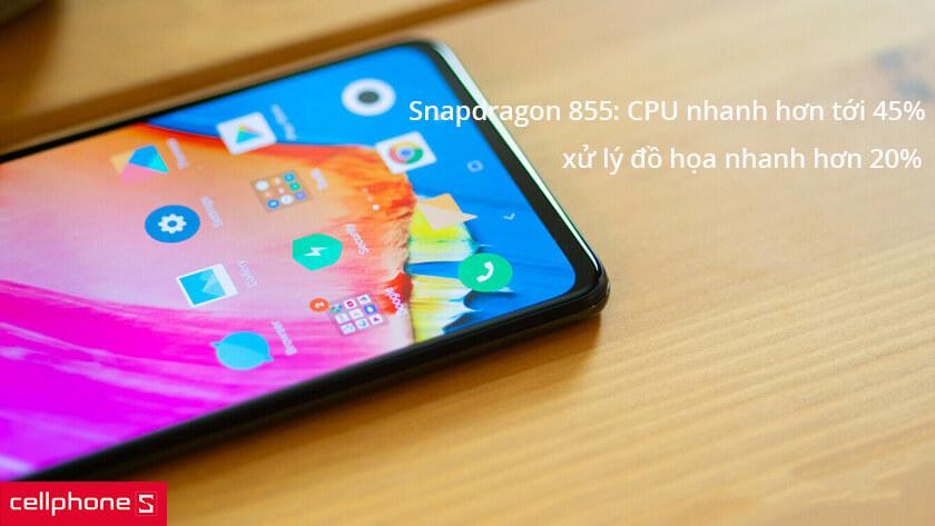 xiaomi mi 9 sử dụng chip Snapdragon 855