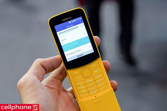 Nokia 8110 4G Chính hãng cũ, mới 99%