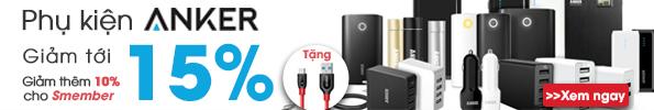 Mua phụ kiện Anker giảm tới 20% tại CellphoneS.com.vn