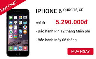Mua Apple iPhone 6 16 GB cũ 99% tại CellphoneS