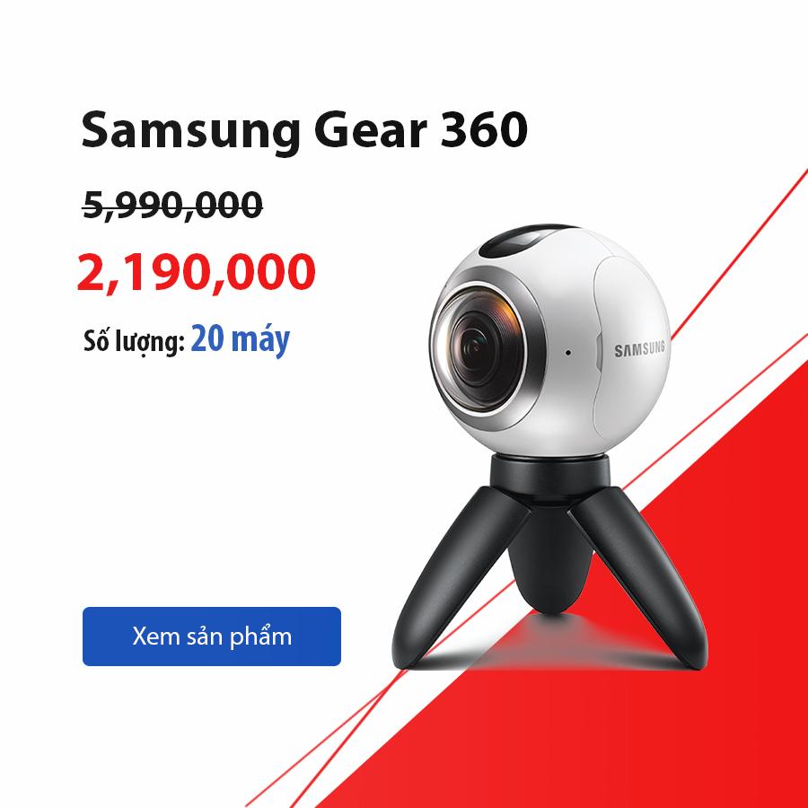 Samsung Gear 360 giá sốc