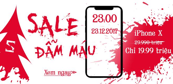Sale đẫm máu 23.12.2017