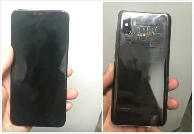 Xiaomi Mi 8 lộ thiết kế với màu Translucent Black mới
