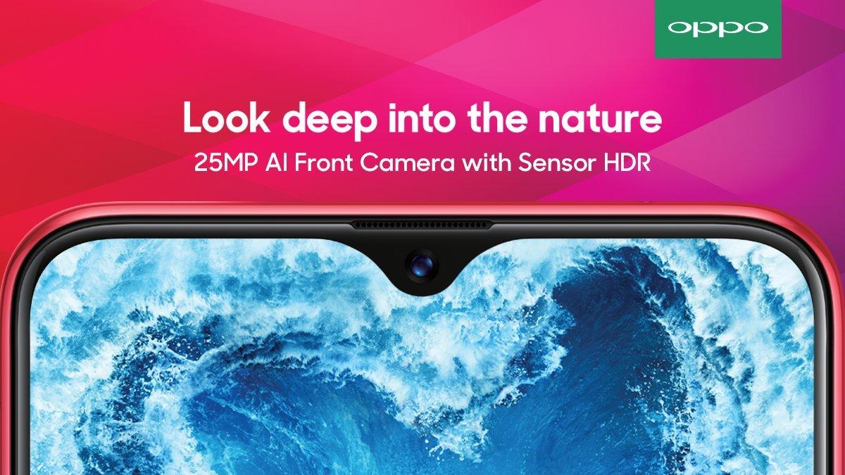 """Sforum - Trang thông tin công nghệ mới nhất Oppo-F9-Pro OPPO F9 ra mắt: Màn hình """"giọt nước"""", camera kép, sạc nhanh VOOC siêu tốc, giá 7.69 triệu"""