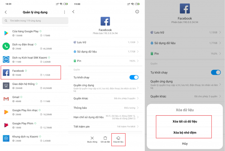 HD khắc phục lỗi app FB