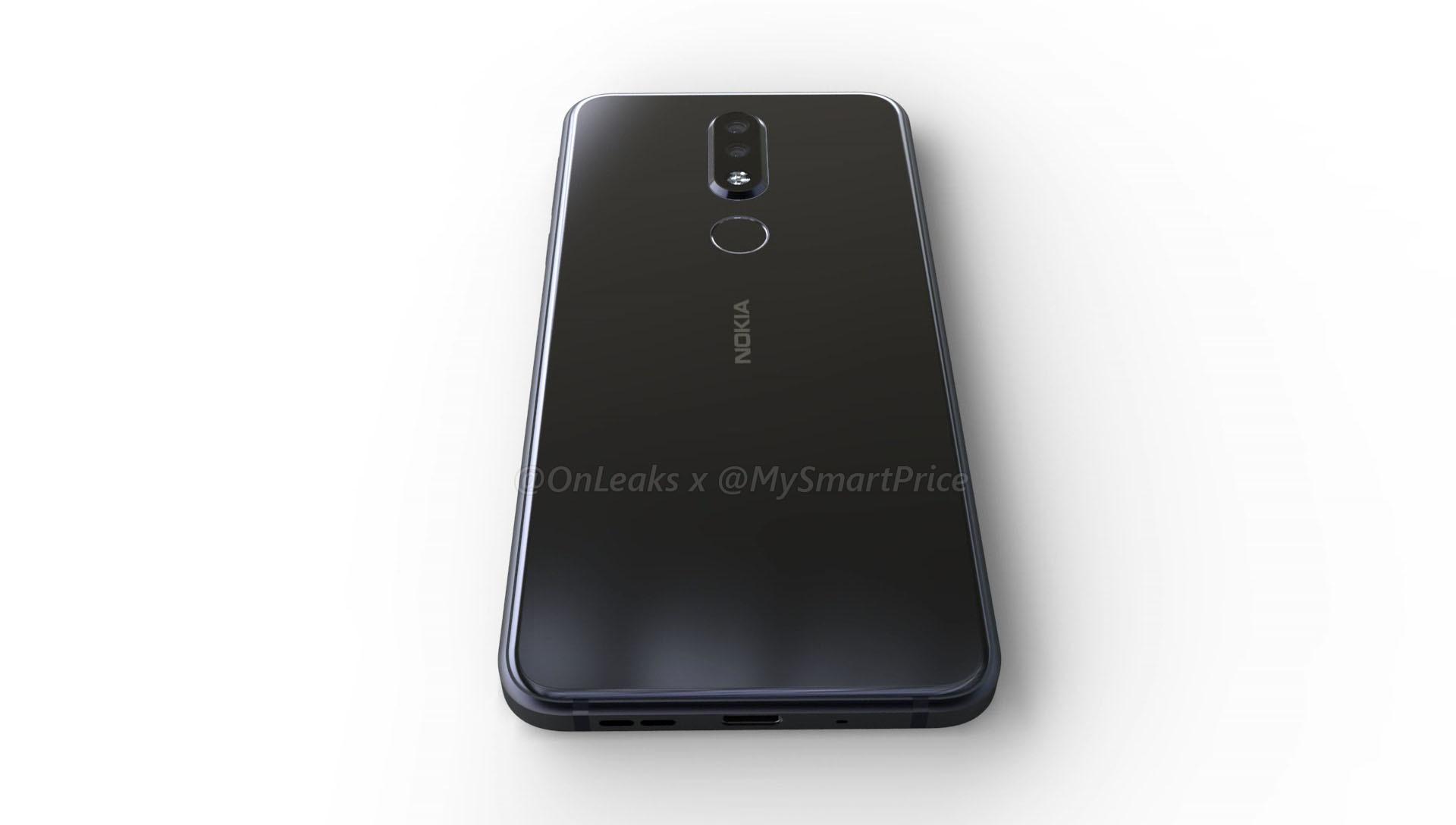 Sforum - Trang thông tin công nghệ mới nhất Nokia-7.1-Plus-3 Lộ ảnh render Nokia 7.1 Plus: Snapdragon 710, 6GB RAM, vẫn có tai thỏ, ra mắt vào ngày 4/10