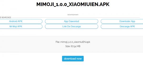 Sforum - Trang thông tin công nghệ mới nhất Capture-3-600x272 Hướng dẫn tải về Xiaomi Mi Moji: Hóa thân thành nhân vật ngộ nghĩnh hệt như Animoji của iPhone
