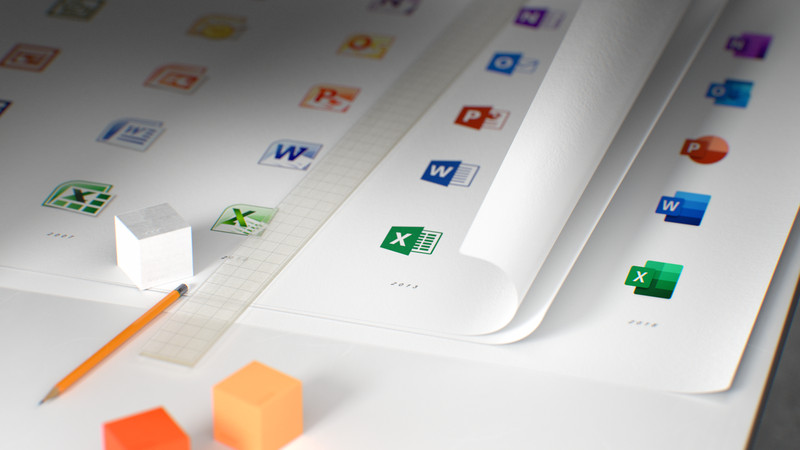 Sforum - Trang thông tin công nghệ mới nhất office_icons_HD_00000 Microsoft Office có bộ icon hoàn toàn mới