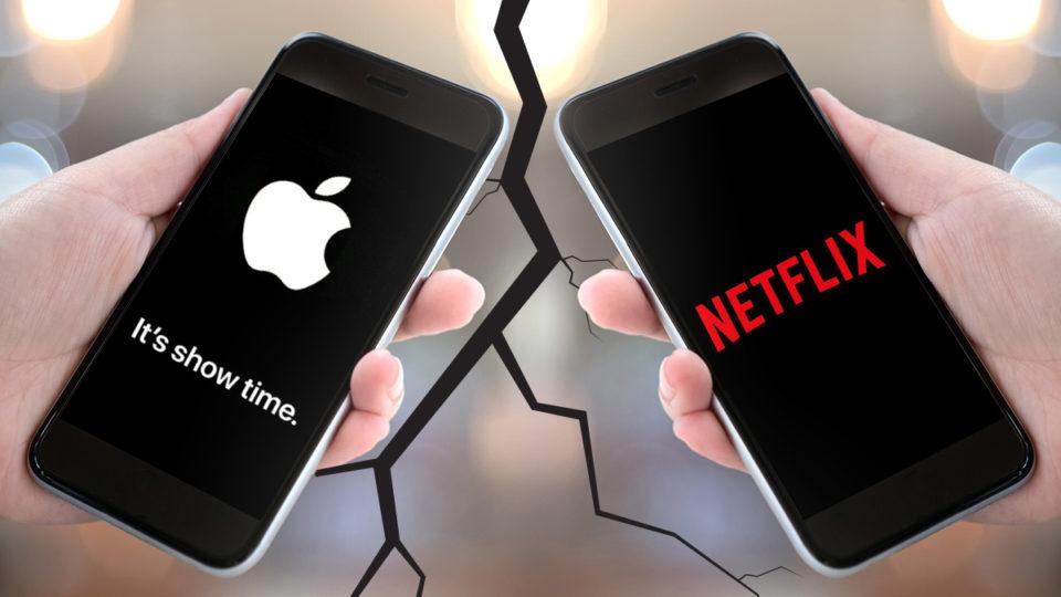 Sforum - Trang thông tin công nghệ mới nhất netflix-apple-war Khi Samsung còn bận đấu phần cứng với Huawei, Apple đã tìm ra hướng đi của riêng mình