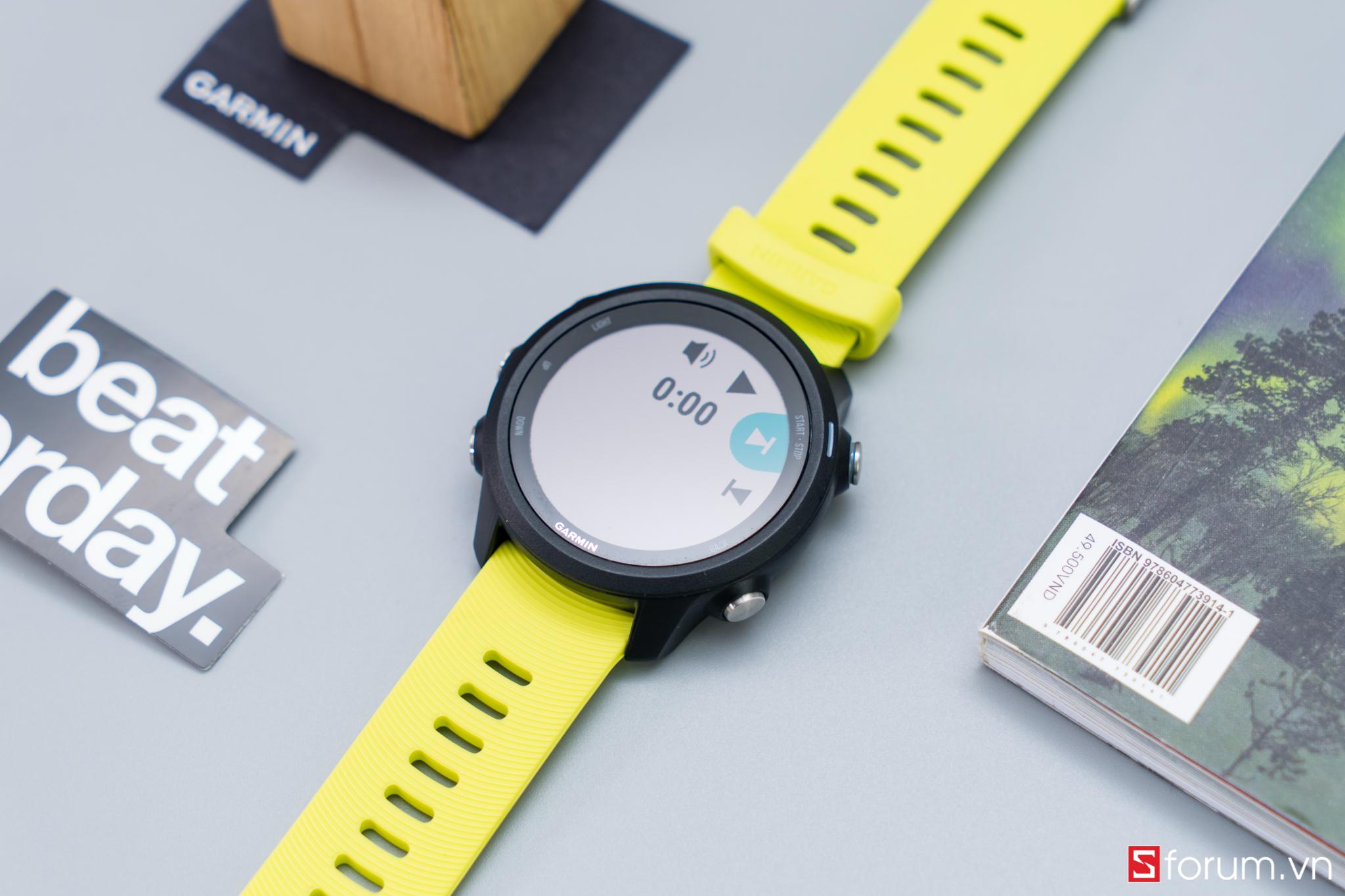 Sforum - Latest technology information page CPS-Garmin-Forerunner-245-28 Reviews Garmin Forerunner 245: Smartwatch