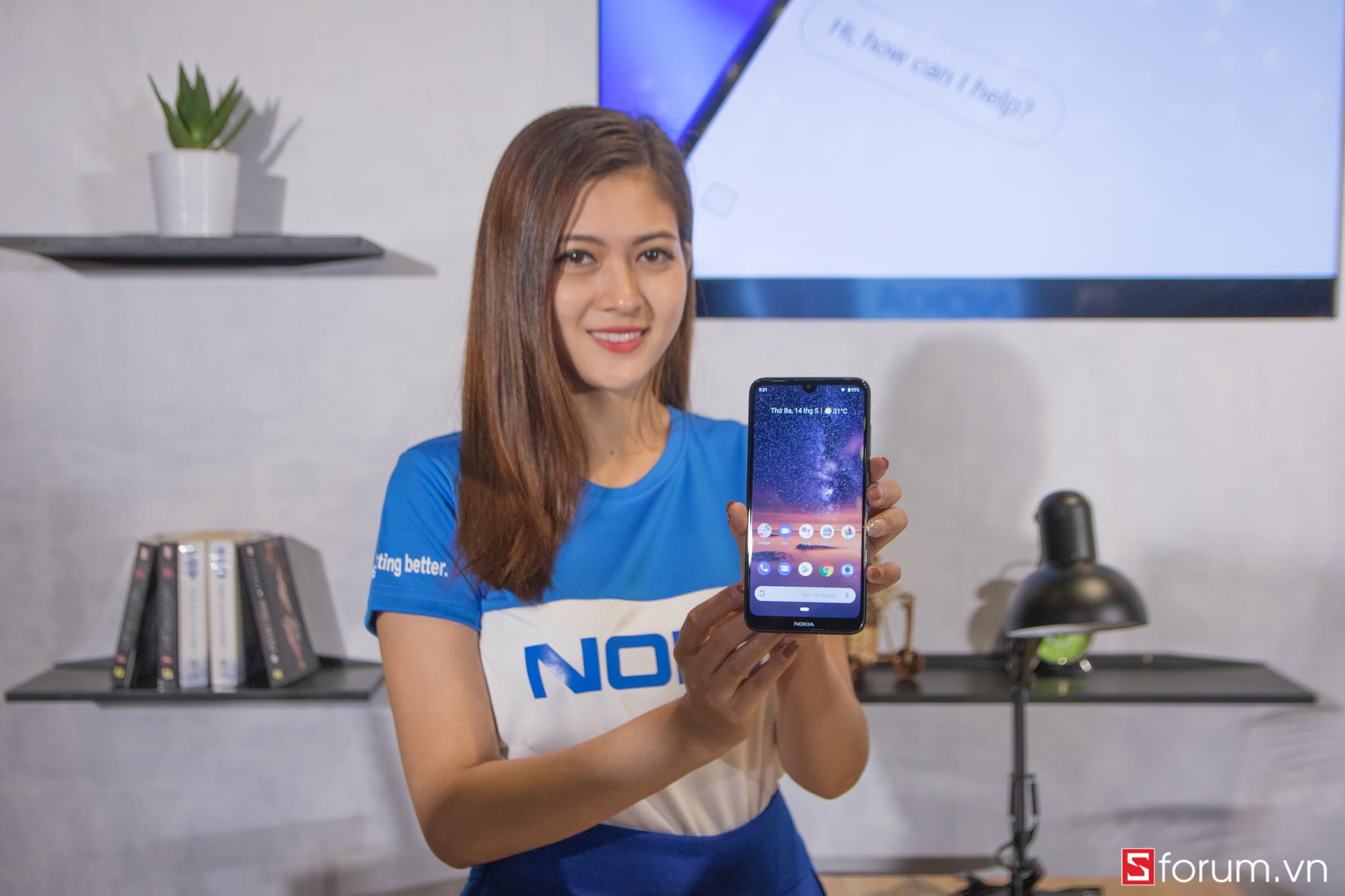 Sforum - Trang thông tin công nghệ mới nhất IMG_8480 Nokia 3.2 ra mắt: Màn hình giọt nước, có nút Google Assistant riêng, chạy Android One, giá 2.9 triệu