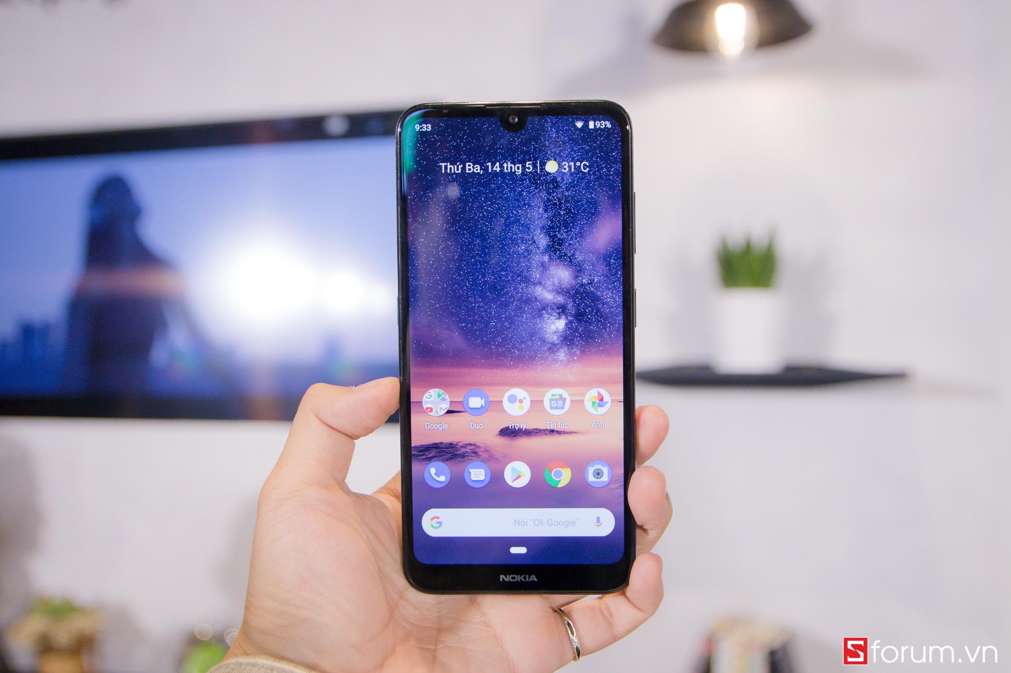 Sforum - Trang thông tin công nghệ mới nhất IMG_8489 Nokia 3.2 ra mắt: Màn hình giọt nước, có nút Google Assistant riêng, chạy Android One, giá 2.9 triệu