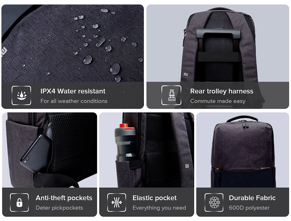 Sforum - Latest information technology site balo-du-lich-Xiaomi-2 Xiaomi launches new Mi Business Casual Backpack backpack, priced at VND 333,000
