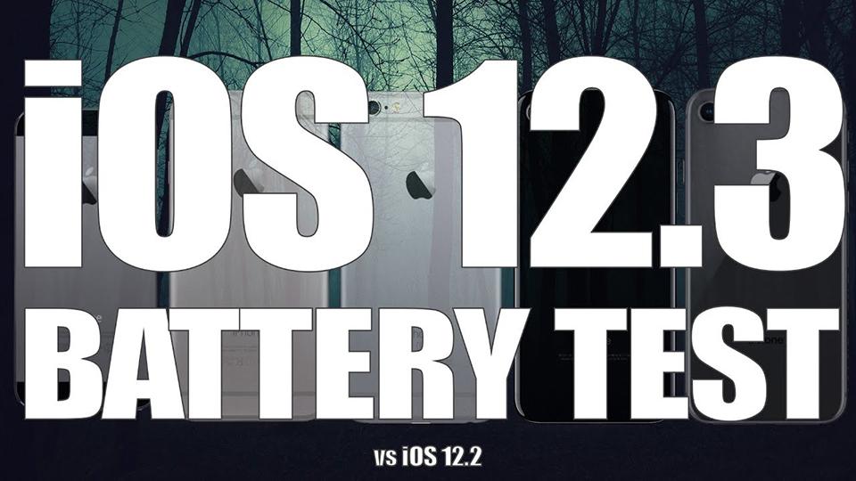 Sforum - Trang thông tin công nghệ mới nhất so-sanh-pin-iOS-12-3-va-iOS-12-2-1 So sánh thời lượng pin iPhone trên iOS 12.3 và iOS 12.2, sau khi nâng cấp pin có bị hao?