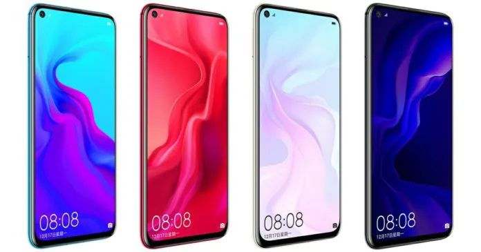 Sforum - The latest Nova-5i Huawei Nova 5 Series technology information page: 3 versions, the highest Kirin 980, 4 cameras, 40W fast charger