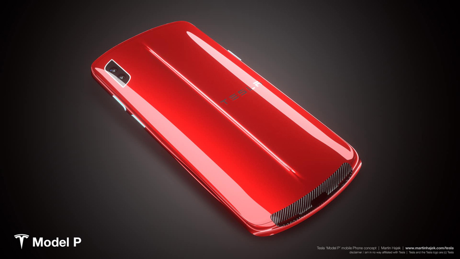 Sforum - The latest technology information page Admire the Tesla smartphone concept: Nice to imagine
