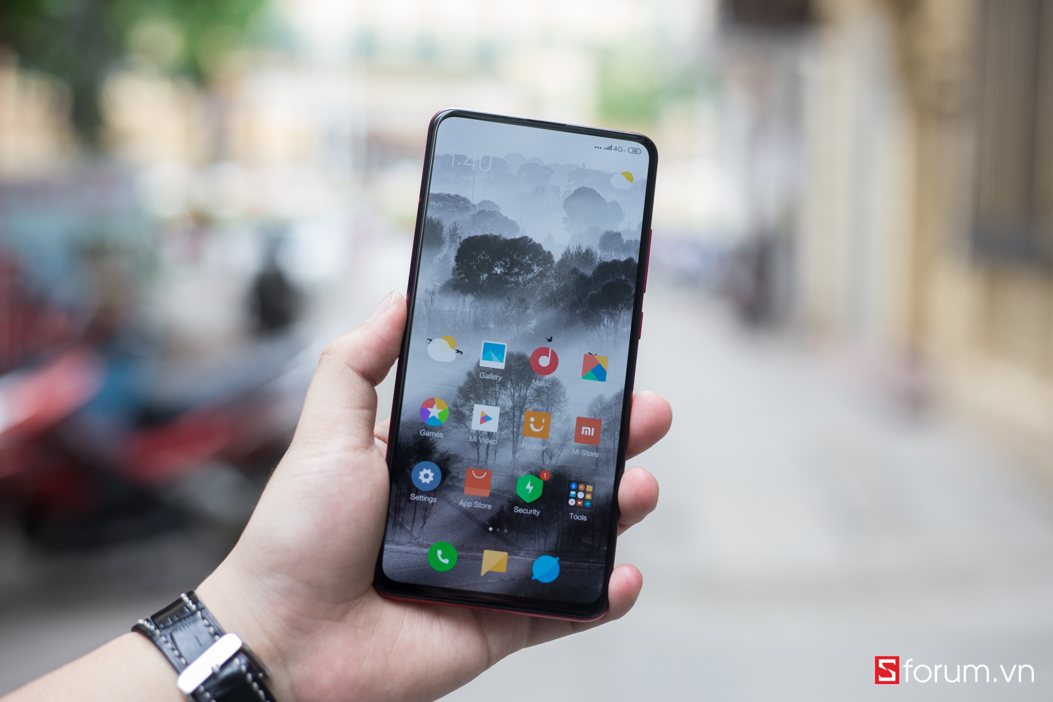 Sforum - Latest technology information page untitled-28 On the first Redmi K20 Pro in Vietnam: