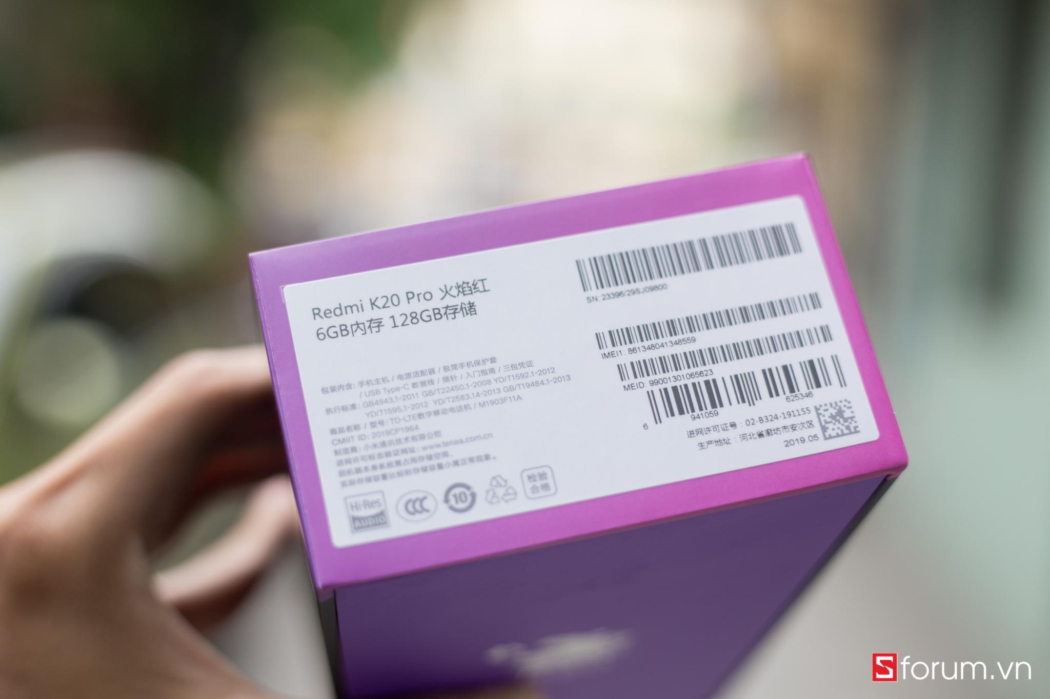 Sforum - Latest technology information untitled-3 On the first Redmi K20 Pro in Vietnam: