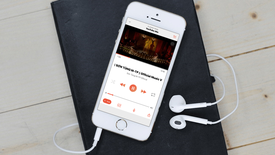 Sforum - Latest technology information page Listen-to-music-YouTube-when-tat-man-hinh-1 Share 3 best apps to listen to YouTube music turn off the screen on iPhone